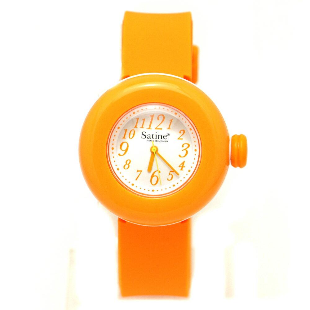 PIERRE HERME ピエールエルメ レディース マカロン 腕時計 ブランド シリコン アナログ mas-0141426 オレンジ 【あす楽】