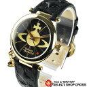 ヴィヴィアン・ウエストウッド Vivienne Westwood レディース チャーム付き アナログ 腕時計 VV006BKGD ゴールド/ブラック 黒 【女性用腕時計 リストウォッチ ランキング ブ