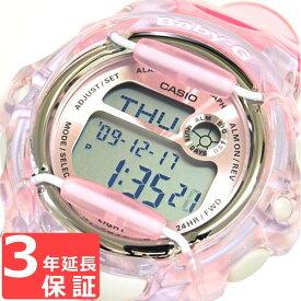 【名入れ対応】 【3年保証】 腕時計 ブランド Baby-G ベビーG カシオ CASIO レディース キッズ 子供 REEF BG-169R-4DR クリアピンク 【あす楽】