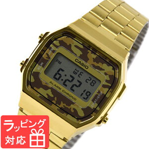 CASIOカシオメンズレディースキッズ子供ユニセックス腕時計ブランドウォッチデジタルカジュアルチプカシチープカシオ迷彩柄カモフラージュ柄A168WEGC-5EF