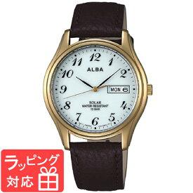 【無料ギフトバッグ付き】 【3年保証】 SEIKO セイコー ALBA アルバ ソーラー メンズ 腕時計 AEFD544 正規品 【あす楽】