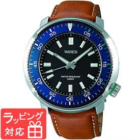 【無料ギフトバッグ付き】 【3年保証】 SEIKO セイコー WIRED ワイアード クオーツ メンズ 腕時計 AGAJ701 数量限定モデル 限定数(世界)800 正規品 【あす楽】