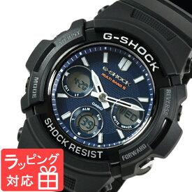 【名入れ・ラッピング対応可】 【3年保証】 カシオ 腕時計 CASIO G-SHOCK CASIO Gショック 防水 ジーショック メンズ AWG-M100SB-2A 時計 電波時計 電波 ソーラー AWG-M100SB-2ADR ブラック 黒 海外モデル [国内 AWG-M100SB-2AJF と同型] 【あす楽】