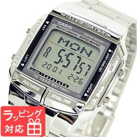 【名入れ・ラッピング対応可】 カシオ CASIO DATA BANK データバンク 腕時計 ブランド 海外モデル DB-360-1ADF シルバー チプカシ チープカシオ メンズ レディース キッズ 子供 ユニセックス 【あす楽】