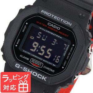 【3年保証】カシオ腕時計CASIOG-SHOCKDW-5600HR-1防水ジーショック時計デジタルメンズブラック黒レッドDW-5600HR-1DR海外モデルカシオ腕時計