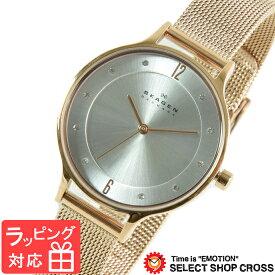 【3年保証】 スカーゲン メンズ レディース ユニセックス 腕時計 SKAGEN 時計 スカーゲン 時計 SKAGEN 腕時計 人気 クオーツ ブランド SKW2151 メッシュベルト シルバー×ピンクゴールド スカーゲン