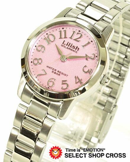 【お取寄せ】 シチズン Q&Q CBM レディース用 ソーラー リリッシュ H997-901 ピンク 【女性用腕時計 リストウォッチ ランキング ブランド かわいい カラフル】【着後レビューを書いて1000円OFFクーポンGET】