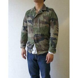 フランス軍放出 F2ジャケット JJ004UNW L CCE カモフラージュ( 迷彩) 88( S相当) 【中古】