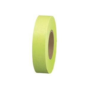 (業務用60セット)ジョインテックス 紙テープ5巻入 黄緑 B322J-YG