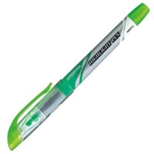 (業務用5セット)ジョインテックス 蛍光マーカー直液式 緑10本 H026J-GN-10