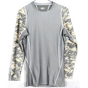 アメリカ軍 タクティカルトレーニングアンダーシャツ 【 長袖/Mサイズ 】 Y M615004 ACU 【 レプリカ 】