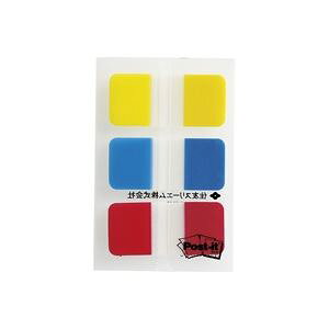 (業務用10セット)スリーエム 3M ポストイット 682S-1 ジョーブインデックス 混色