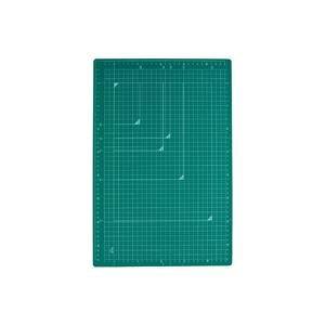 (まとめ)プラス カッターマット A3 GR CS-A3 緑【×5セット】