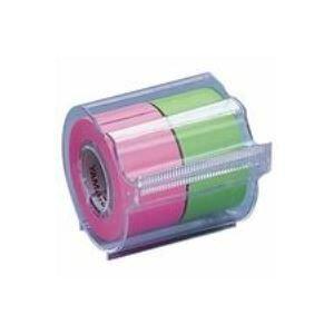 (まとめ)ヤマト メモックロールテープ 蛍光 NORK-25CH6B【×10セット】