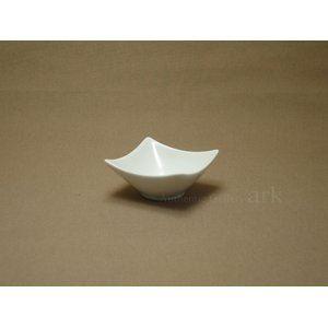 【セット販売】白い器 スイート角鉢 白 ホワイト (6個セット)