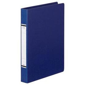 (まとめ) TANOSEE Oリングファイル(紙表紙) A4タテ 2穴 220枚収容 背幅36mm 青 1冊 【×30セット】