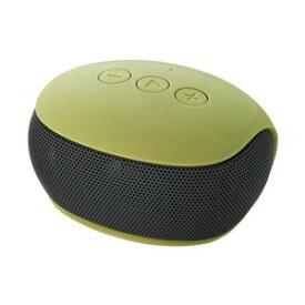 エレコム Bluetoothモノラルスピーカー/スマートフォン用/コンパクト/グリーン LBT-SPP20GN