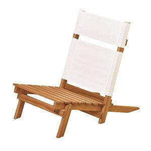 天然木デッキチェア(組み立て式椅子) 木製/アカシア NX-515 〔アウトドア キャンプ お庭 テラス〕