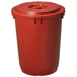 味噌樽/みそ保存容器 【42型】 プラスチック製 深型設計 上フタ・押しフタ/持ち手付き 『新輝合成』