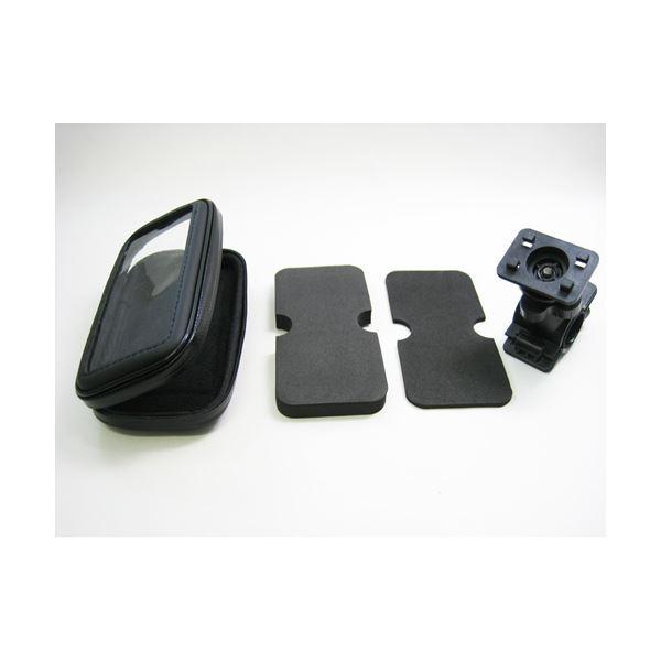 (まとめ)ITPROTECH スマホバイクホルダー防水タイプ/L YT-BKHLD-L/SP【×5セット】