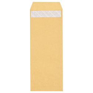 (まとめ) ピース R40再生紙クラフト封筒 テープのり付 長40 70g/m2 〒枠あり 453-10 1パック(100枚) 【×10セット】