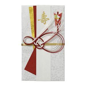 (まとめ) マルアイ 新金封 なごみ W105×H185mm 赤 キ-609R 1枚 【×15セット】