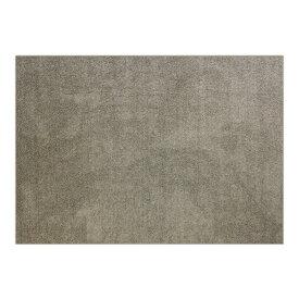 防音 ラグマット/絨毯 【フレイク 200cm×250cm 3帖 ベージュ】 長方形 床暖房可 防滑 オールシーズン 〔リビング〕【代引不可】