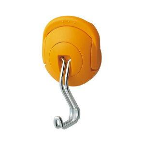 (まとめ) コクヨ 超強力マグネットフック(タフピタ) 耐荷重約10kg オレンジ フク-227YR 1個 【×10セット】