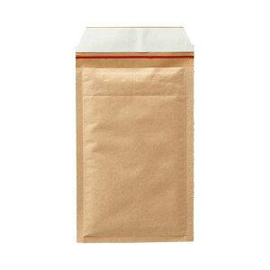 TANOSEE クッション封筒 小物用 内寸130×215mm 茶 1セット(400枚:200枚×2ケース)