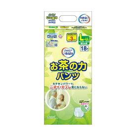 (まとめ)カミ商事 エルモア いちばんお茶の力パンツ LL 1パック(18枚)【×5セット】