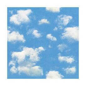(まとめ)カモ井加工紙 mt CASA シート壁用 空と雲の柄 MT03WS2309 3枚パック (×50セット)