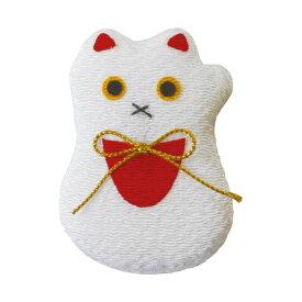 (まとめ)ヤマコー ちりめんマグネット 招き猫【×10セット】