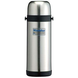 ステンレスボトル/水筒 【1L】 保温・保冷対応 真空断熱 オートロック オールシーズン ひも付き タフコ ワンダー