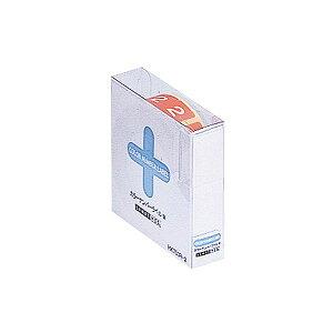 (まとめ) リヒトラブ カラーナンバーラベルMロールタイプ 「2」 HK753R-2 1箱(300片) 【×10セット】