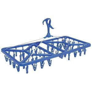 洗濯ハンガー/ピンチハンガー 【幅76.5cm】 52ピンチ 折りたたみ 『オーエ マイランドリー2 スーパージャンボ』 〔ベランダ 庭〕