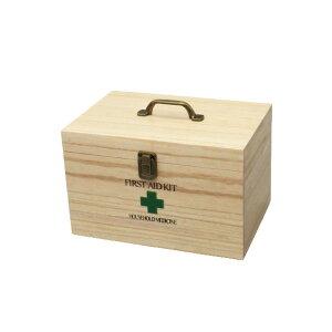 桐製 救急箱 薬箱 くすり箱 小物入れ ツールボックス 救急 ファーマシーボックス ファーストエイドボックス 持ち手つき おしゃれ かわいい シンプル 北欧 木製【代引不可】