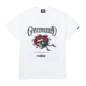 15%OFF リバーサル Tシャツ メンズ 半袖 reversal グレイトフルデッド SKULL & ROSES TEE GRATEFUL DEAD by rvddw Collaboration