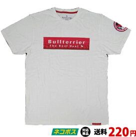 ブルテリア BULL TERRIER bj-503 BULL TERRIER Tシャツ FIRE 白