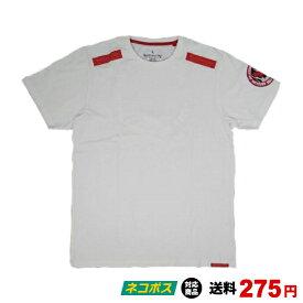 ブルテリア BULL TERRIER bj-507 BULL TERRIER Tシャツ Circle Logo 白