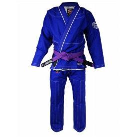 ブルテリア BULL TERRIER bjk-151 BULLTERRIER 柔術衣 スーパーマテリアル5.0 青