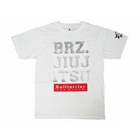 ブルテリア BULL TERRIER bj-472 BULL TERRIER Tシャツ 3D BJJ 白