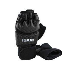 isami イサミ TN-1-BK ハンドガード 拳 サポーター 格闘技 武道 空手 キックボクシング 総合格闘後