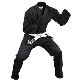 isami イサミ JJ-15 軽量柔術衣(上下帯付セット)黒 柔術 格闘技 武道 キックボクシング 総合格闘後