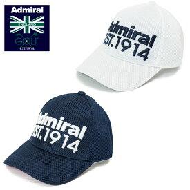 アドミラルゴルフ メッシュキャップ エスタブリッシュキャップ(ADMIRAL GOLF ADMB018F 帽子 メッシュCAP)スポーツ