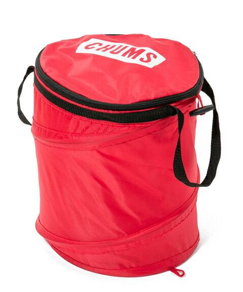 チャムス ポップアップトラッシュカン ごみ箱 20リットル アウトドア キャンプ用品 (CHUMS CH62-1167 Pop Up Trashcan 20L バケツ トラッシュ缶)