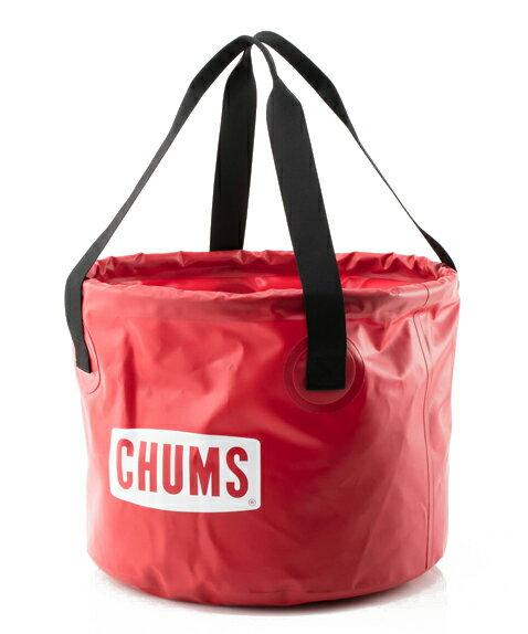 チャムス バケツ 30L アウトドア キャンプ用品 (CHUMS CH62-1168 Bucket 30リットル)