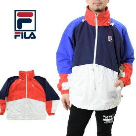 FILA フィラ フルジップジャケット (FM9535 Full zip jacket ビッグシルエット メンズ レディース ナイロン)