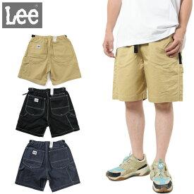 Lee ショートパンツ イージーフィット ショーツ (リー メンズ LM8493 撥水 ベージュ デニム ブラック ゆったり ワイド ジーンズ)