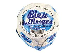 ブルー・デ・ネージュ【白カビ&青カビ/ブルーチーズ/フランス】