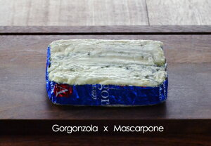 ゴルゴンゾーラ・マスカルポーネ  500g(不定貫)【青カビ/ブルーチーズ/イタリア】
